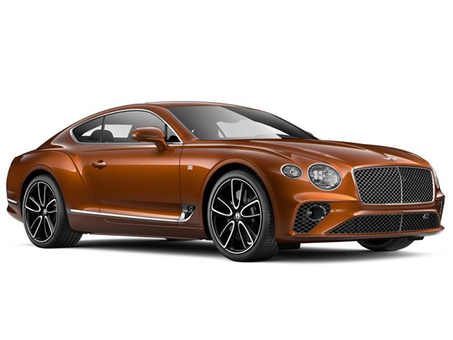 Компания Bentley представила Continental GT First Edition
