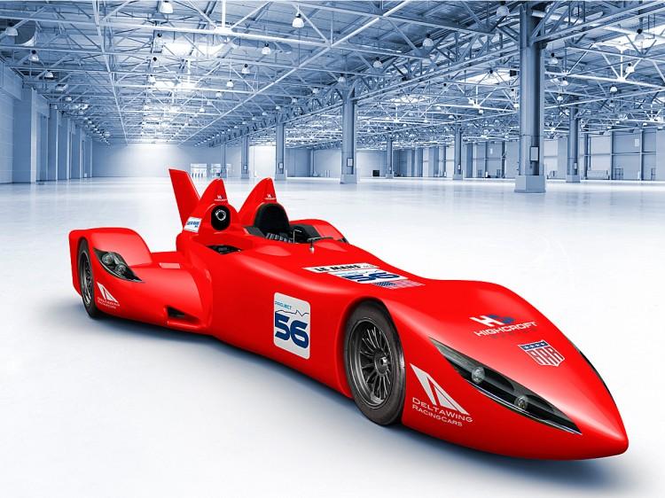 Экспериментальный гоночный автомобиль Nissan DeltaWing